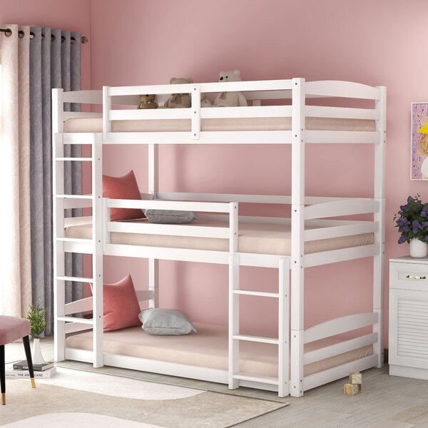 Thorp Twin over Twin over Twin Triple Bed by Harriet Bee
