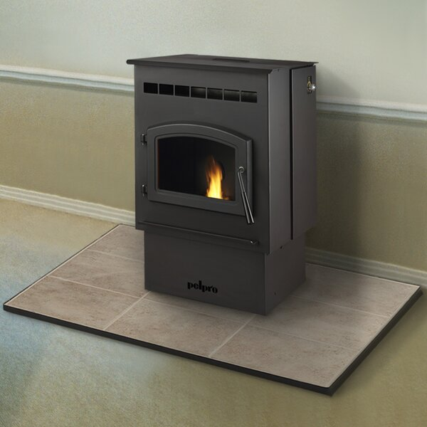 1,500 sq. ft. Direct Vent Pellet Stove by PelPro