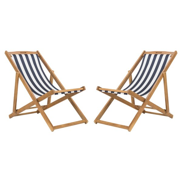 Winston Patio Chair (Set of 2) by Highland Dunes