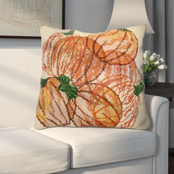 Miller Pumpkin Pile Geometric Euro Pillow by Alcott Hill