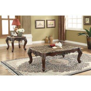Great Price Robbins 2 Piece Coffee Table Set ByFleur De Lis Living