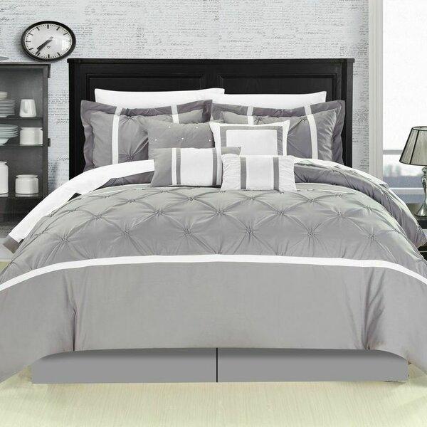 Charissa Striped 8 Piece Comforter Set by Willa Arlo Interiors