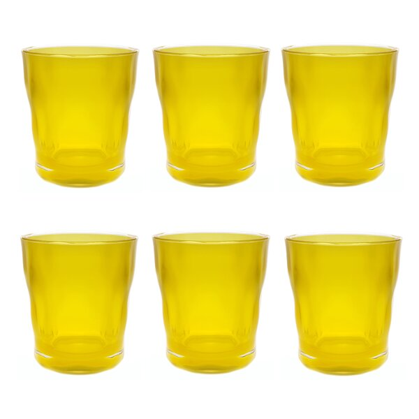 Southmead Old Fashioned 14 oz. Plastic Every Day Glass (Set of 6) by Latitude Run