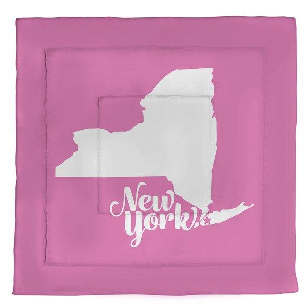 New York Single Reversible Comforter