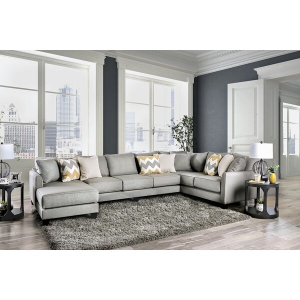 Jenna Reversible Sectional by Wrought Studio