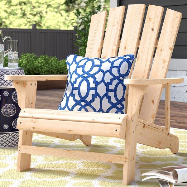 Allard Falls Solid Wood Adirondack Chair by Charlton Home