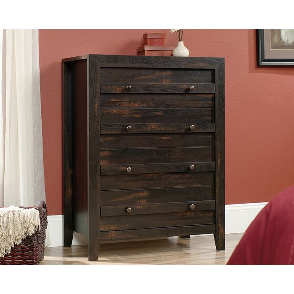 Nettleton 4 Drawer Standard Chest by Union Rustic