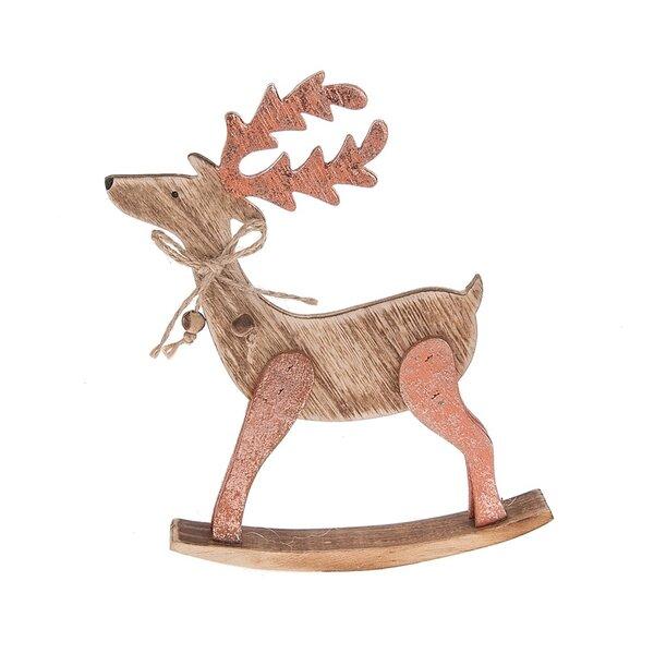 Small Rocking Reindeer by Loon Peak