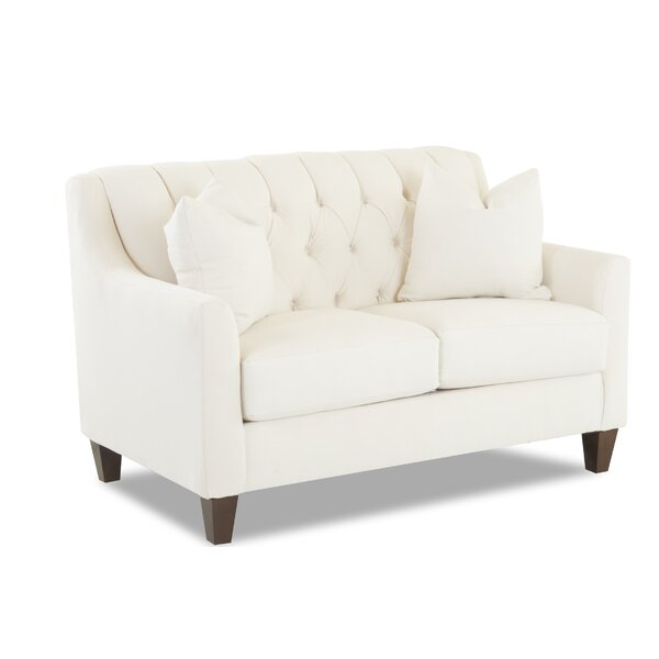 Charity Loveseat by Wayfair Custom Upholstery™