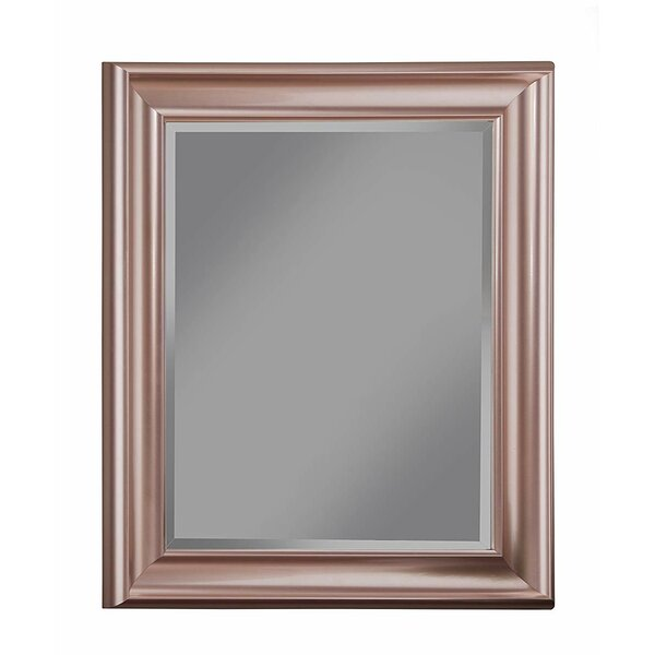 Mccane Polystyrene Framed Beveled Accent Mirror by Winston Porter