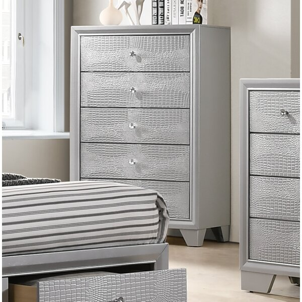 Bowdoin 5 Drawer Chest by House of Hampton