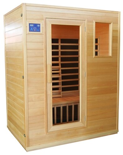 GASC 3 Person FAR Infrared Sauna by Great American Sauna Company