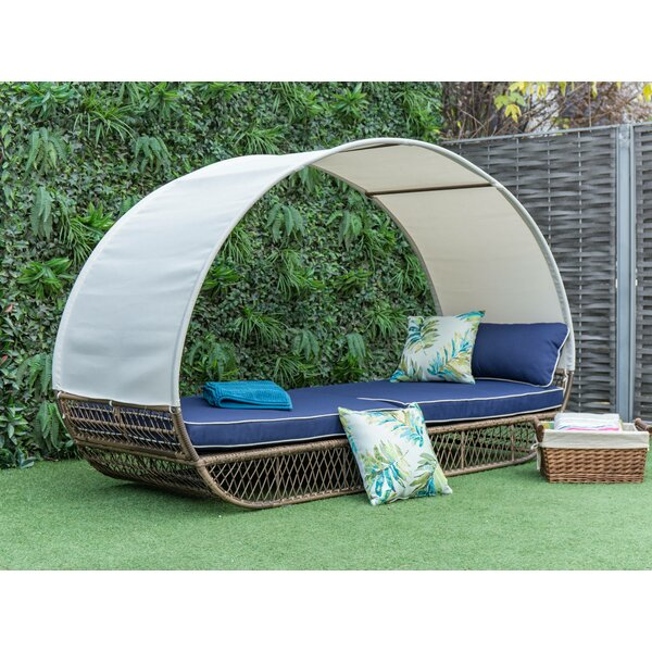 Eastbourne Patio Daybed with Cushions by Freeport Park