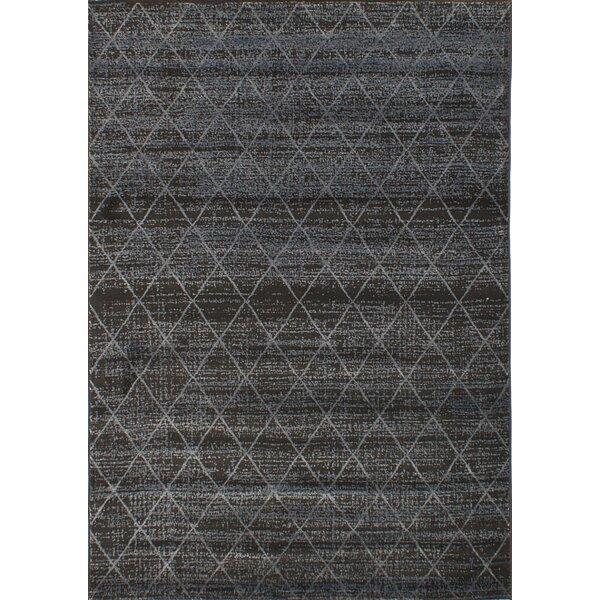 Duckworth Dark Gray Area Rug by Williston Forge