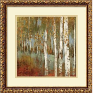 'Alongthe Path I' by Allison Pearce Framed Painting Print by Amanti Art
