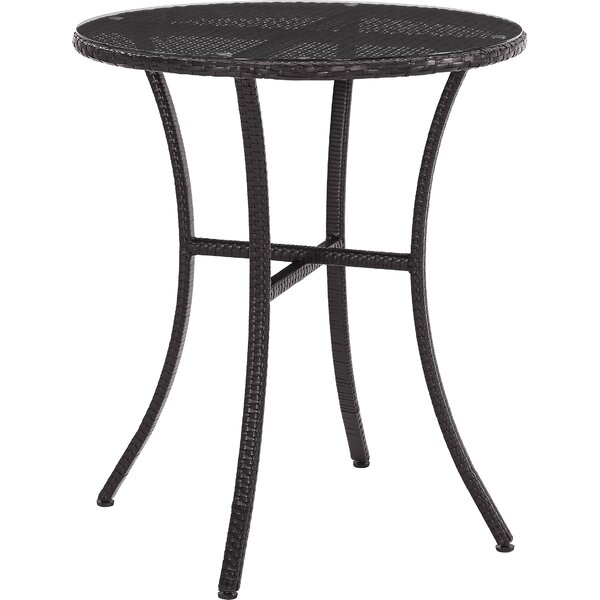 Belton Steel Bistro Table by Mercury Row