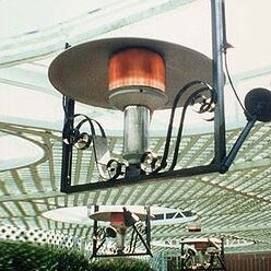 50,000 BTU Natural Gas Hanging Patio Heater by Sunglo