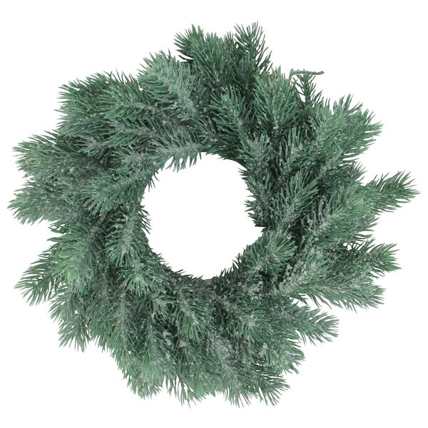 Traditional Decorative Christmas 12 Pine Wreath by The Holiday Aisle