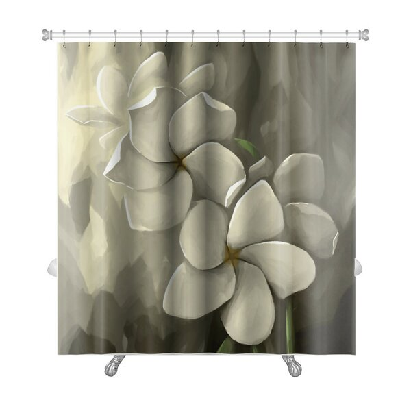 Flowers Digital Painting in Computer Shower Curtain by Gear New