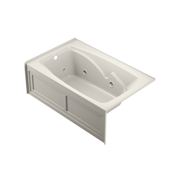 Cetra Left-Hand Heater 60 x 36 Skirted Whirlpool Bathtub by Jacuzzi®
