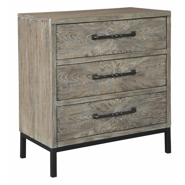 Karam 3 Drawer Accent Chest by Millwood Pines Millwood Pines