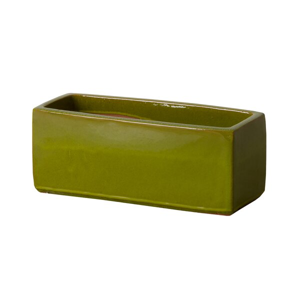 Ceramic Planter Box by Emissary Home and Garden