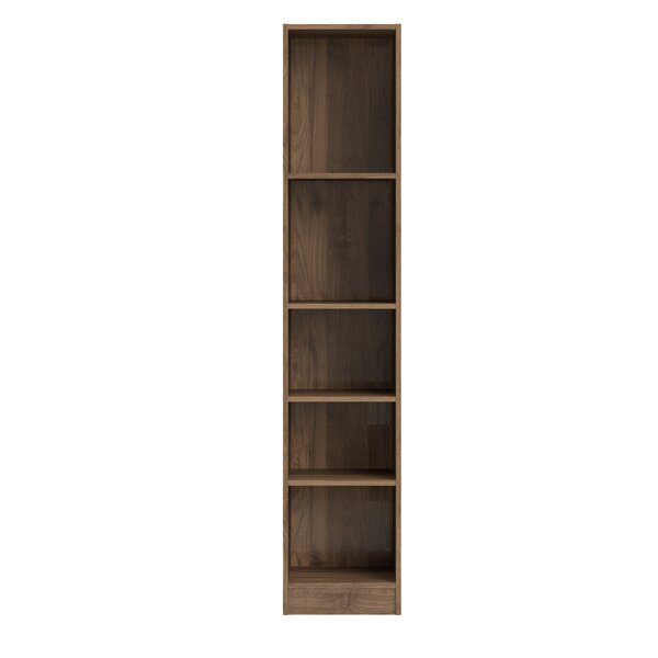 Vernice Tall 5 Shelf Standard Bookcase by Zipcode Design