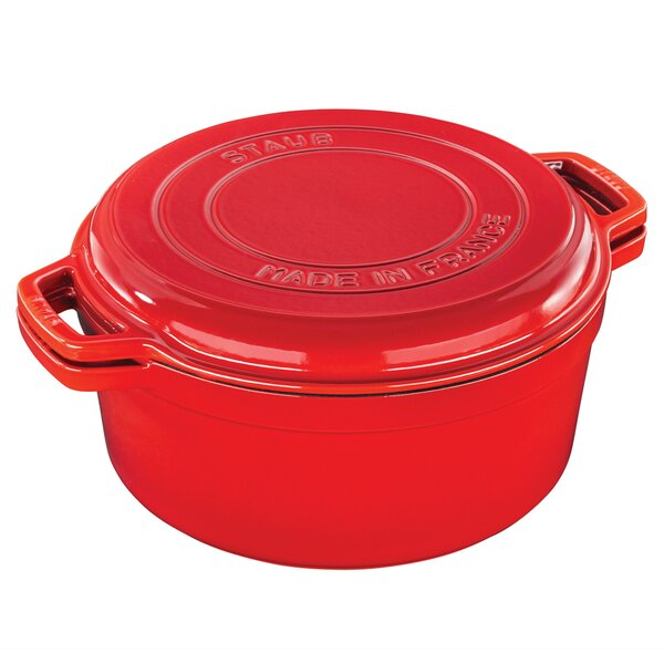 7 Qt. Cast Iron Round Dutch Oven by Staub