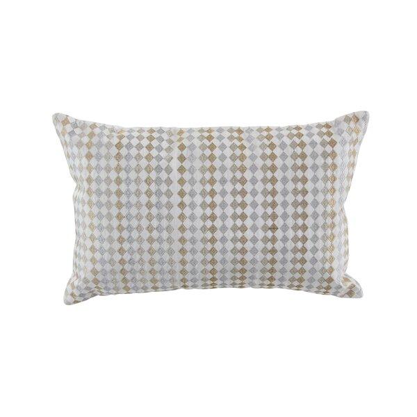 Macedonia Modern Velvet Throw Pillow by Charlton Home