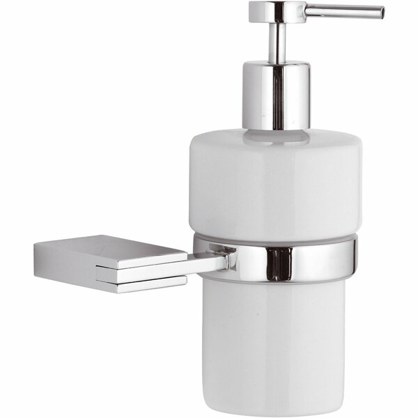 Marcell Wall Mounted CeramicSoap & Lotion Dispenser by Latitude Run
