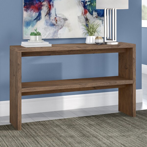 Norloti Mid-Century 2-Shelf Console Table by Langley Street