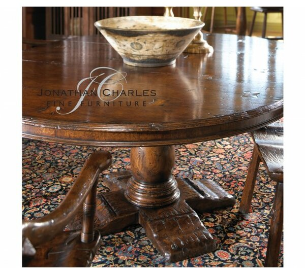 54'' Extendable Dining Table by Jonathan Charles Fine Furniture