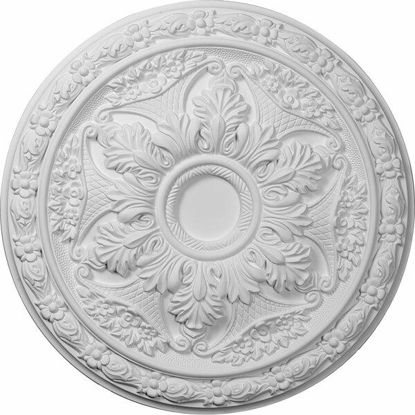 Baile 20H x 20W x 1 5/8D Ceiling Medallion by Ekena Millwork