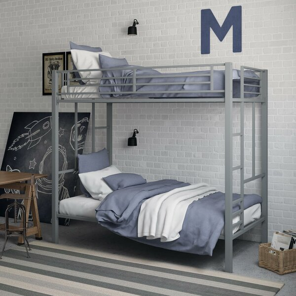 Lilwen Twin over Twin Bunk Bed by Harriet Bee