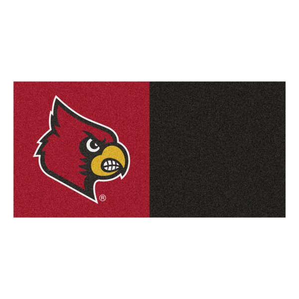 Collegiate 18 x 18 Carpet Tiles in Multi-Colored by FANMATS