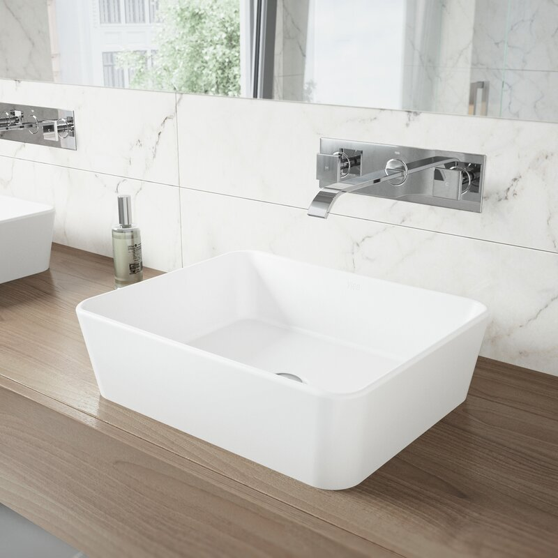 VIGO Titus Wall Mount Bathroom Faucet & Reviews | Wayfair