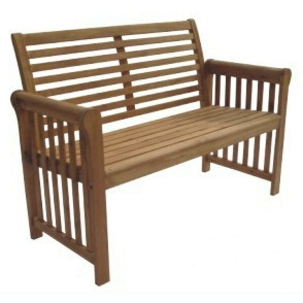 Sequoia Wood Garden Bench by DC America