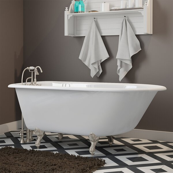55 x 30 Clawfoot Bathtub by Cambridge Plumbing