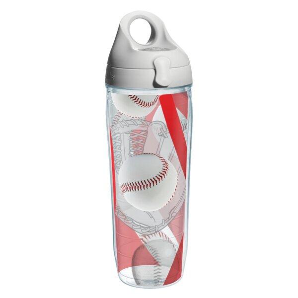Game On Baseball Plastic Water Bottle by Tervis Tumbler