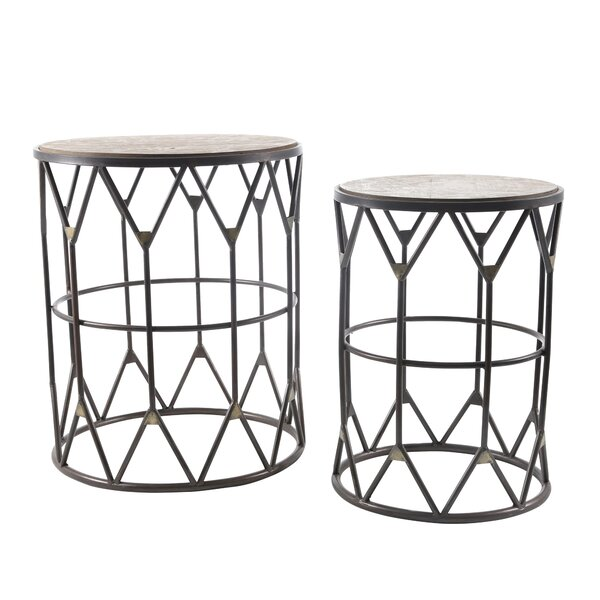 Nassauer End Table Set By Ivy Bronx