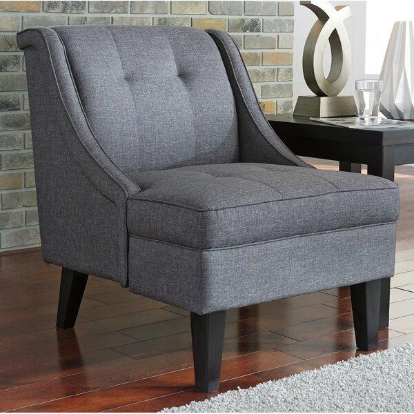 Elnora Slipper Chair by Alcott Hill