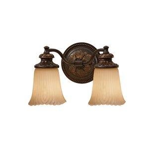 Compare Ligonier 2-Light Vanity Light By Charlton Home