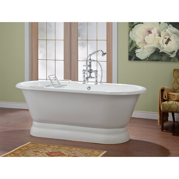 Carlton 70 x 32 Soaking Bathtub with 6 Drilling by Cheviot Products