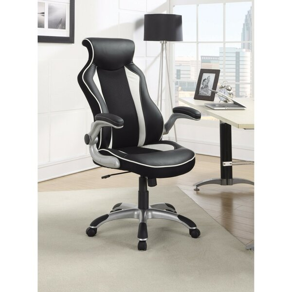 Lapinski Fancy High-Back Executive Chair by Symple Stuff