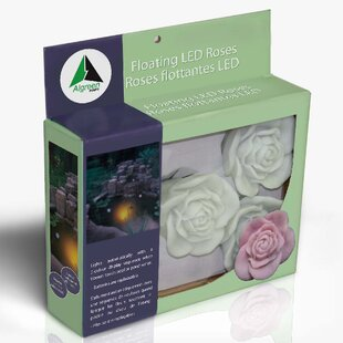Price Check Floating Roses 1-Light LED Well and Pond Light (Set of 5) By Algreen