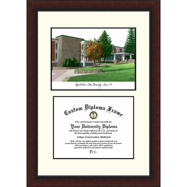 NCAA Appalachian State University Legacy Scholar Diploma Picture Frame by Campus Images