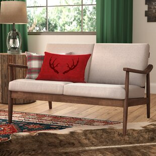 Comparison Kellner Mid-Century Modern Loveseat Union Rustic
