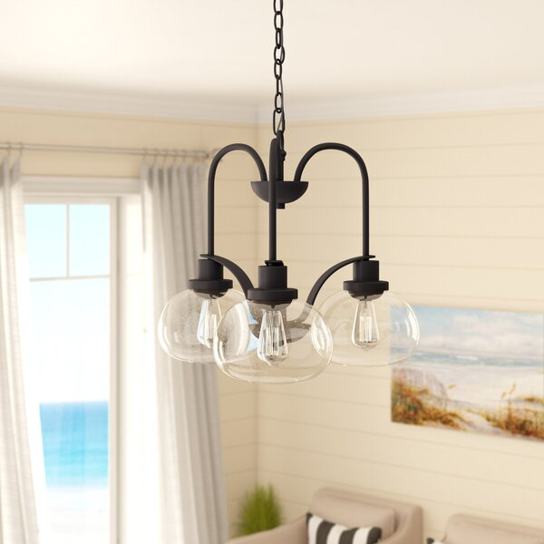Spofford 3 - Light Shaded Classic / Traditional Chandelier By Three Posts