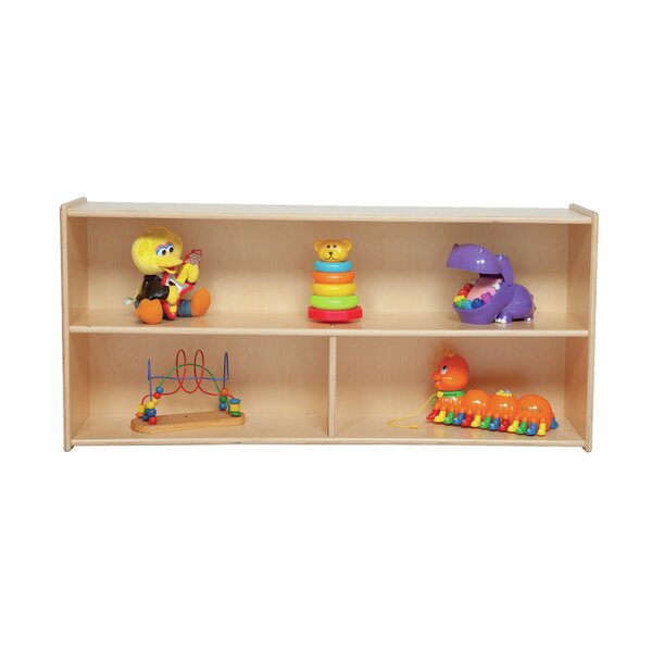Clarendon 3 Compartment Shelving Unit by Symple Stuff