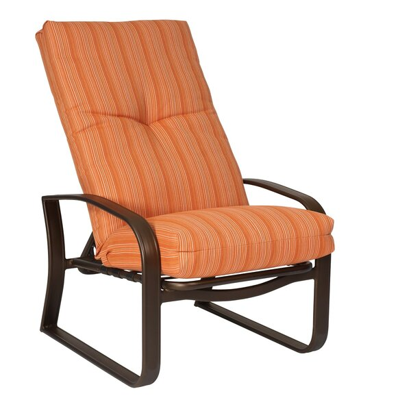 Cayman Isle Adjustable Patio Chair with Cushions by Woodard